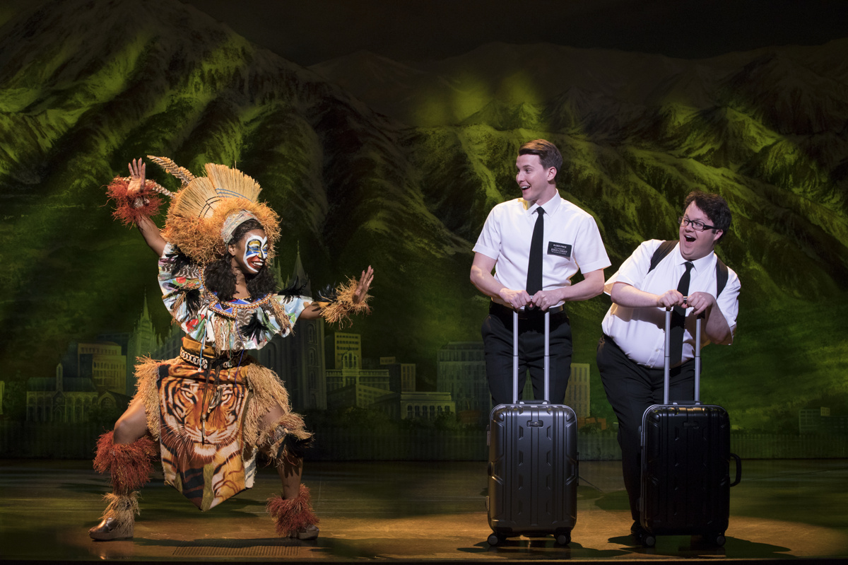 musical of mormon the book