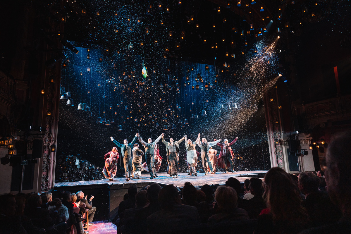Go Inside the Enchanting Opening Night of A Christmas Carol on Broadway   Broadway.com