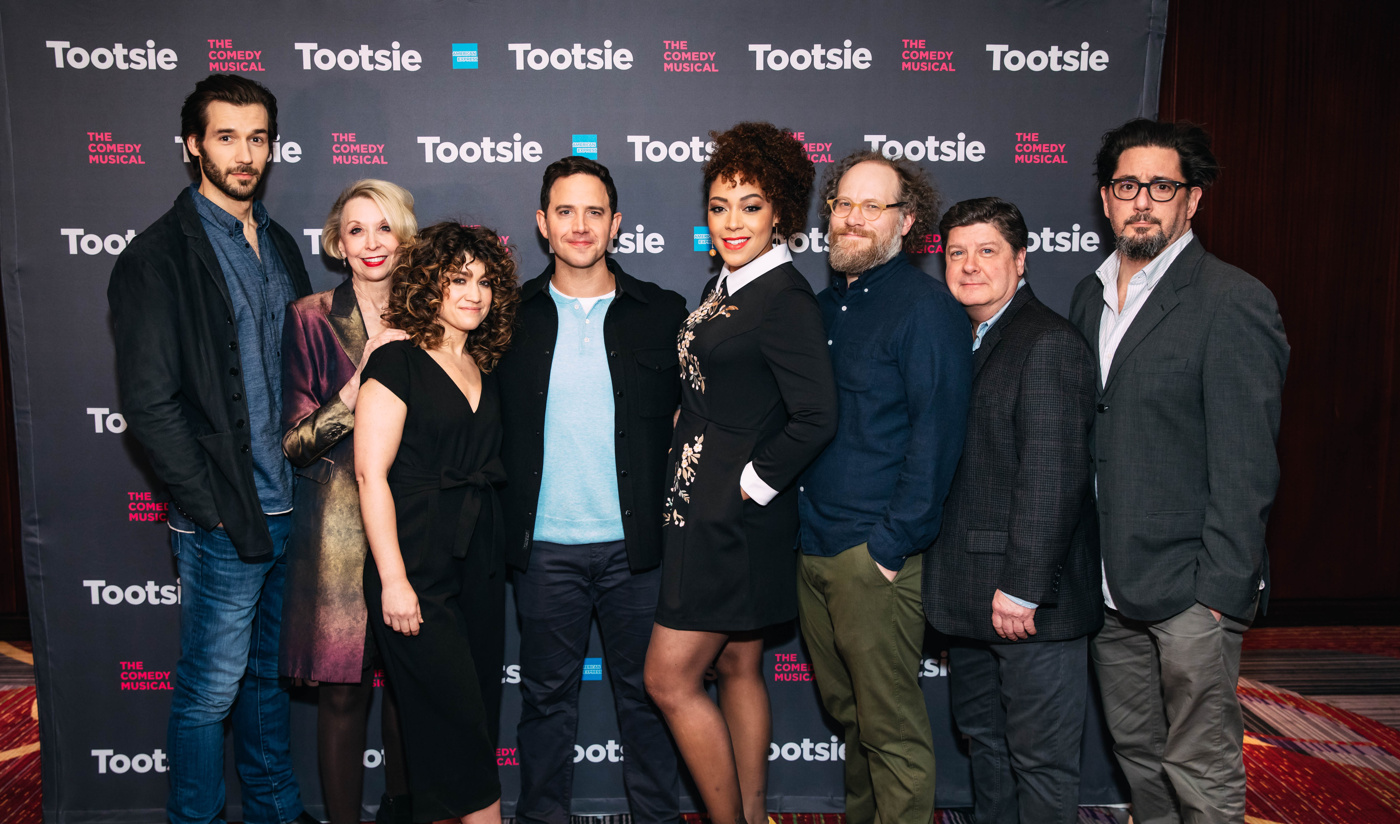 Santino Fontana, Lilli Cooper and the Cast of Tootsie ...