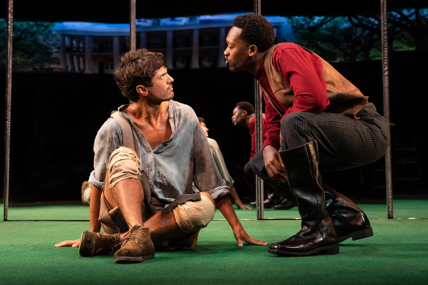 Get a First Look of Jeremy O. Harris' Slave Play on Broadway   Broadway Buzz   Broadway.com
