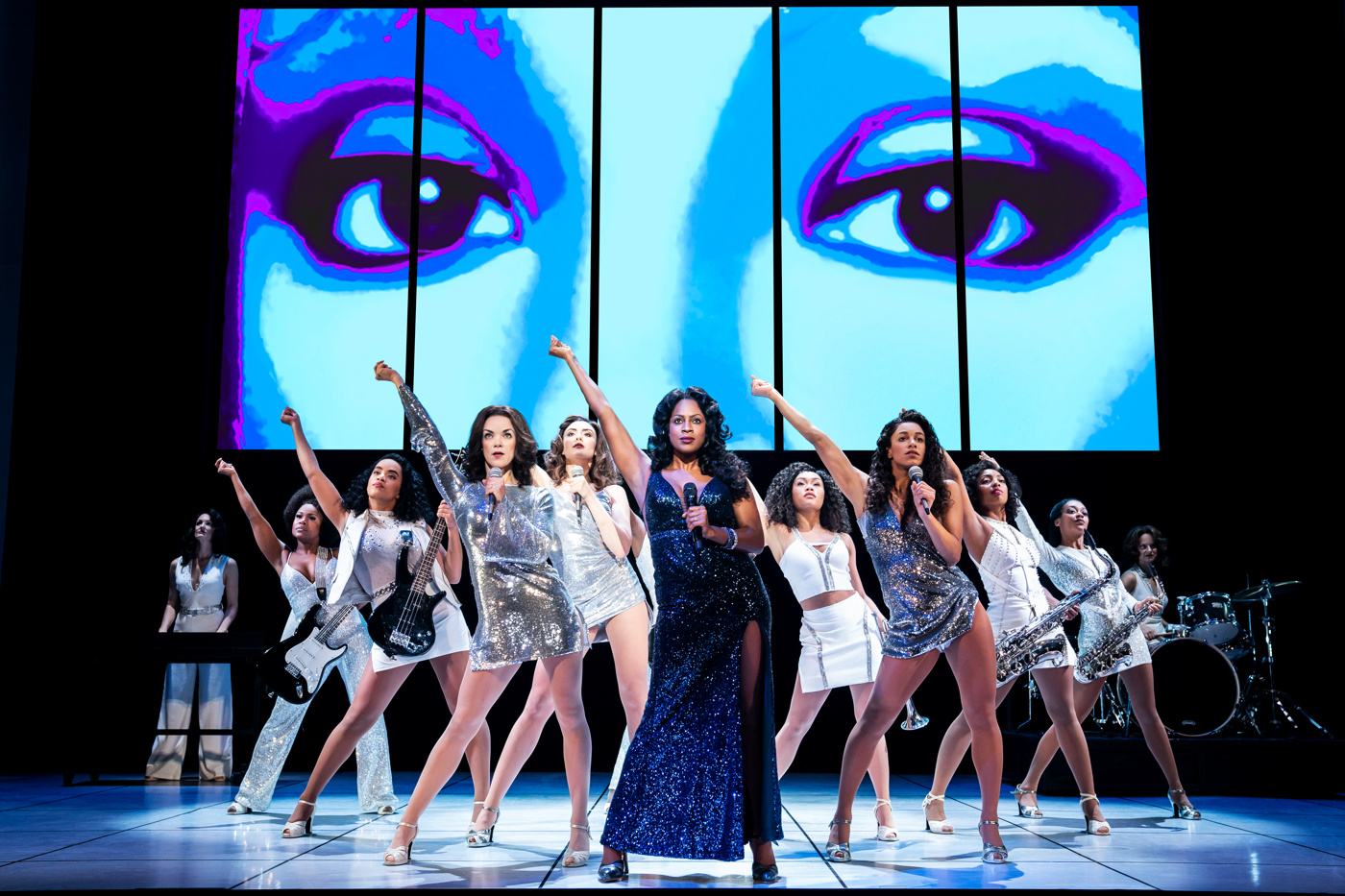 Get a First Look at the Touring Production of Summer: The Donna Summer Musical   Broadway Buzz   Broadway.com
