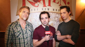 Exclusive! Something Rotten! Stars Adam Pascal, Rob McClure & Josh Grisetti on Leading the National Tour