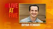 Broadway.com #LiveatFive with Bryan Fenkart of the Waitress National Tour