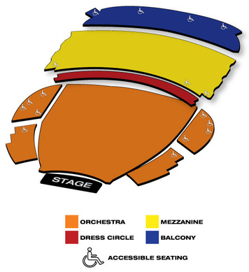 Seatmap for Boston Opera House