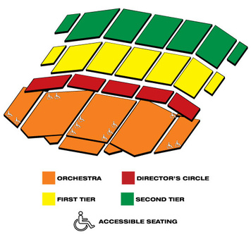 Seatmap for Benedum Center for the Performing Arts