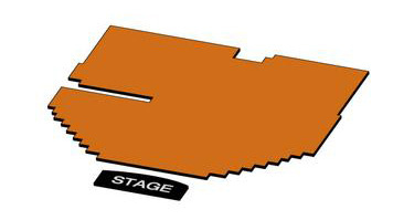 Seatmap for The Parker Playhouse