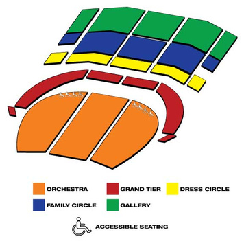 Seatmap for Heinz Hall