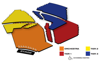 Seatmap for Segerstrom Center for the Arts