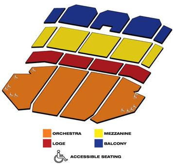 Seatmap for Ohio Theatre