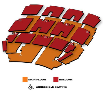 Seatmap for Orpheum Theatre
