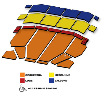 Seatmap for Palace Theatre