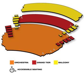 Seatmap for The Kentucky Center