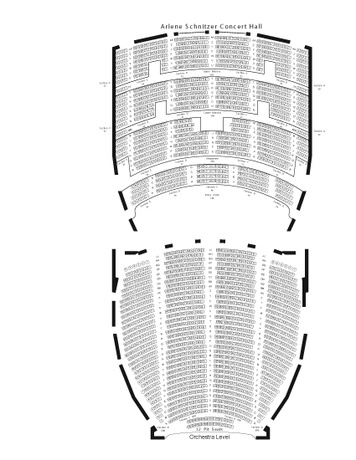 Seatmap for Arlene Schnitzer Concert Hall