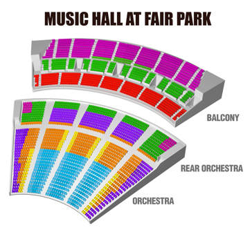 Seatmap for Hello, Dolly!
