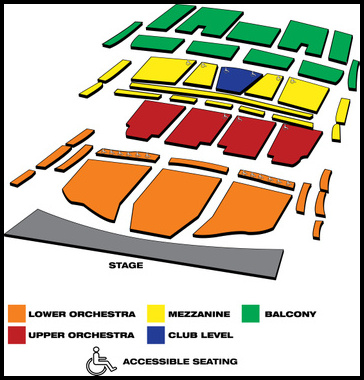 Seatmap for A Bronx Tale