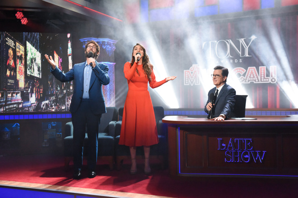 Watch Josh Groban & Sara Bareilles' Epic Duet Tony Awards The Musical