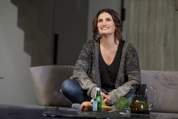Idina Menzel as Jodi in Skintight.