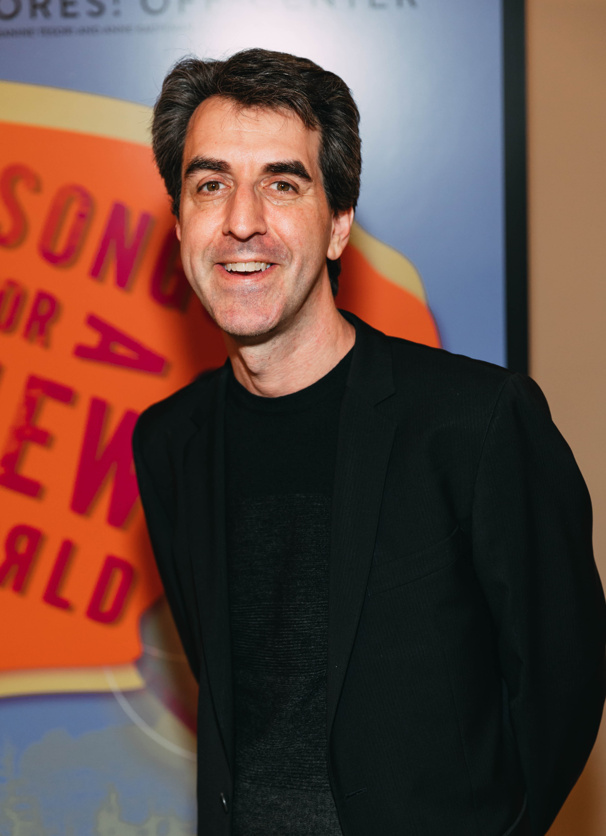 Songs for A New World writer and composer Jason Robert Brown makes an appearance.