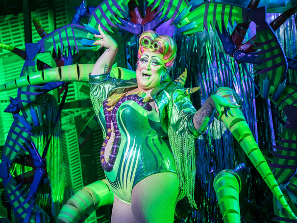 Watch Drag Queen Vicky Vox Slay as Audrey II in Montage from Little Shop at Regent's Park Open Air Theatre