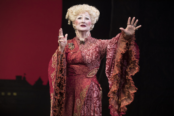 Jody Gelb as Madame Morrible in Wicked