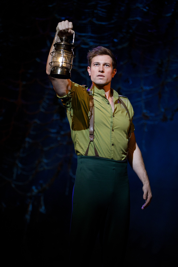 Jon Robert Hall as Fiyero in Wicked
