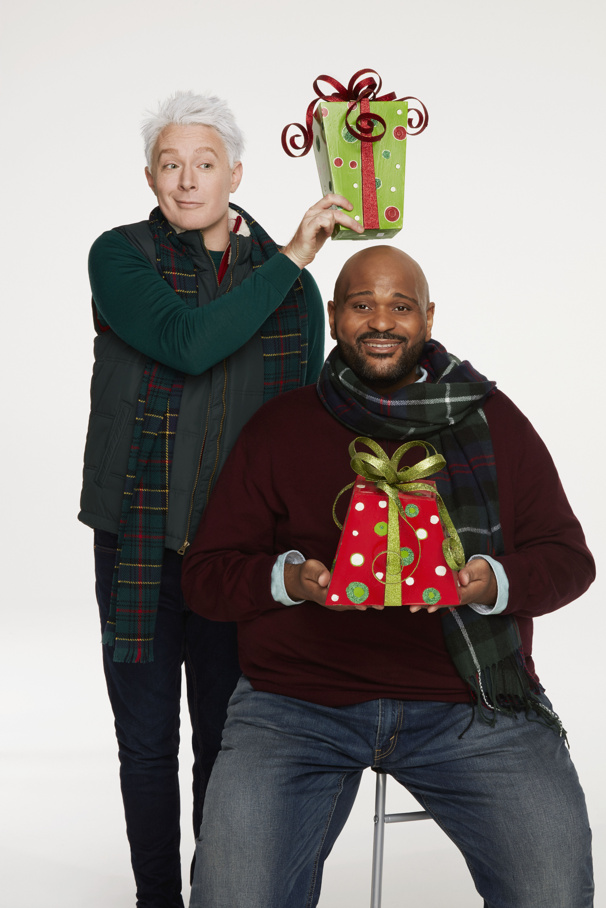 American Idol Alums Clay Aiken & Ruben Studdard Will Team Up on Broadway in New Holiday Show