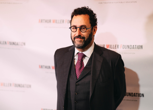 Tony-winning playwright Tony Kushner is the recipient of the Arthur Miller Foundation Humanitarian Award.