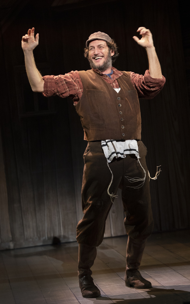 The national touring company of Fiddler on the Roof, photo by Joan Marcus