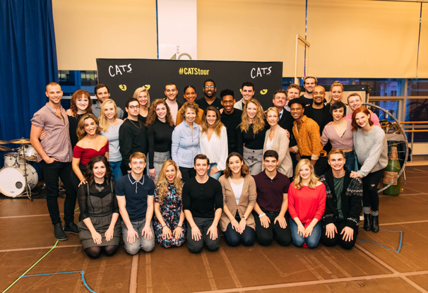 Welcome to the Jellicle Ball! The Cast of the National Tour of Cats Prepares to Hit the Road