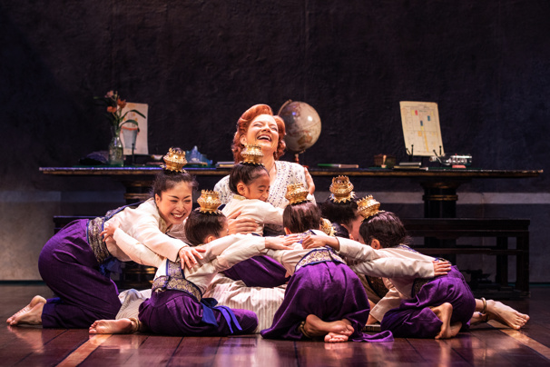 The North American touring company of Rodgers + Hammerstein's The King and I, photo by Matthew Murphy