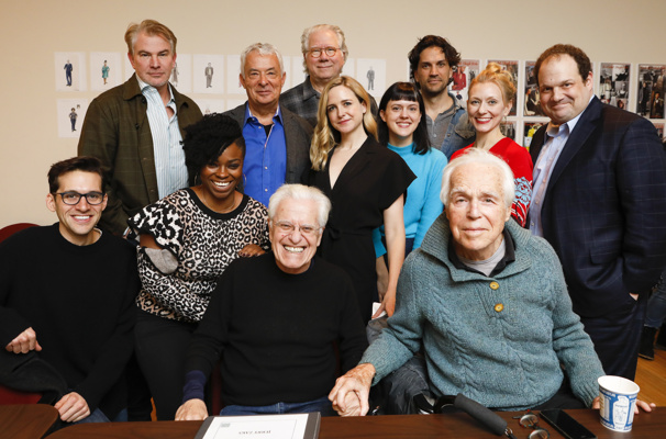 Exclusive! Check Out John Larroquette, Will Swenson & More at First Rehearsal for Lincoln Center Theater's Nantucket Sleigh Ride