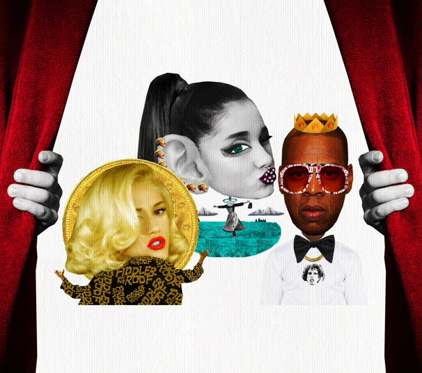 Listen to Ariana Grande, Jay-Z & More Sample Broadway Smashes in Their Hit Songs