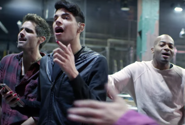 Rent Live Stars Jam Out in A Cappella 'Seasons of Love' Video