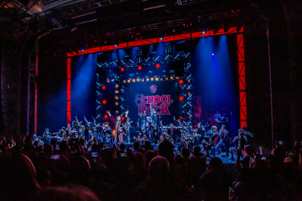 School of Rock Celebrates Final Broadway Performance with Former Kid Cast Members