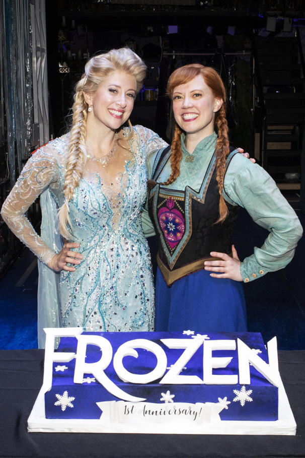 Frozen, Starring Caissie Levy and Patti Murin, Celebrates Its First Broadway Birthday