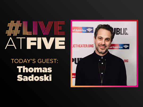 Broadway.com #LiveatFive with Thomas Sadoski of White Noise