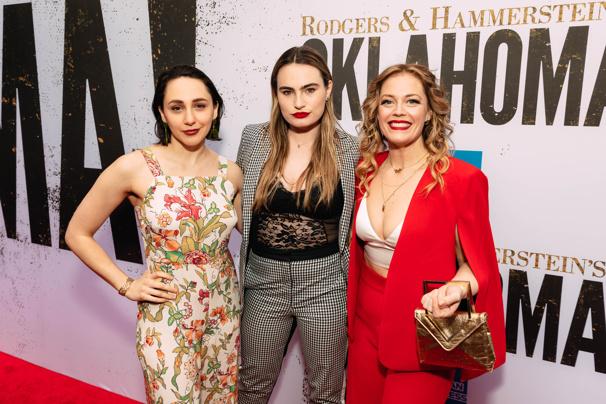 Upcoming Jagged Little Pill stars Lauren Patten, Kathryn Gallagher and Elizabeth Stanley get together.