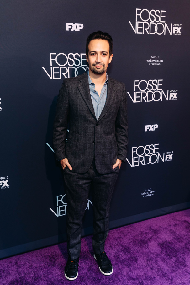 Hamilton mastermind Lin-Manuel Miranda is an executive producer on FX's Fosse/Verdon.