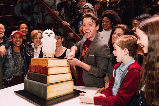 See the Cast of Harry Potter and the Cursed Child Celebrate One Year of Broadway Magic