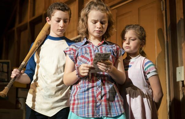 Ryan Foust, Maren Heary and Casey Hiilton in Make Believe.