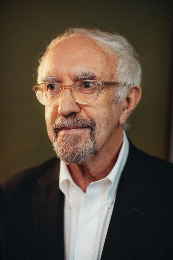 Jonathan Pryce plays André in The Height of the Storm.
