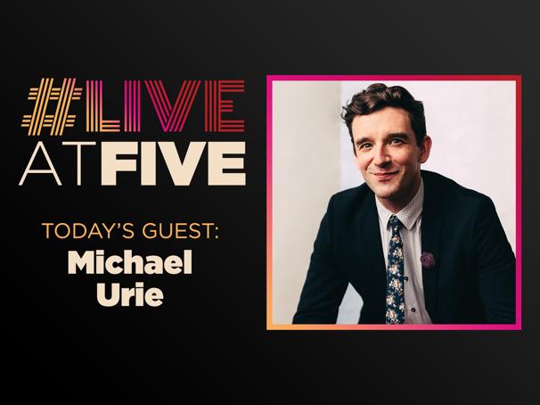Broadway.com #LiveatFive with Michael Urie of Grand Horizons