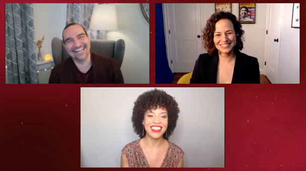 Giving Thanks: Javier Muñoz and Mandy Gonzalez on 'Writing Your Own Stories'