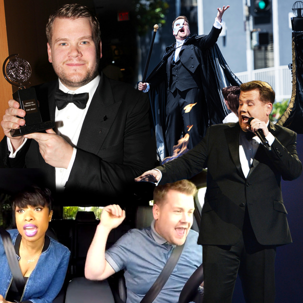 He's Literally on Fire! Five Reasons Why James Corden Will Nail It as Host of the 2016 Tony Awards