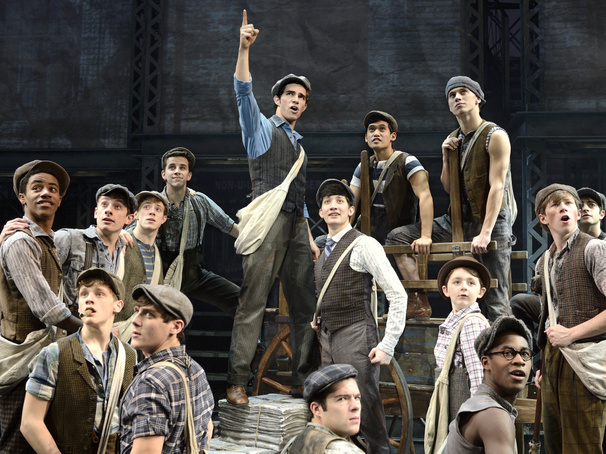Seize the Day! National Tour of Disney's Newsies Opens in Cincinnati