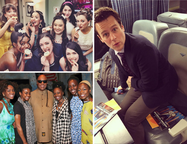 Hamilton Takes the White House & James Monroe Iglehart Summons His Genie Posse in Our Latest Photo Roundup