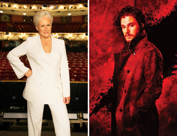 Glenn Close Revisits Sunset, Game of Thrones Heartthrob Kit Harington Takes the Stage & More in the London Datebook