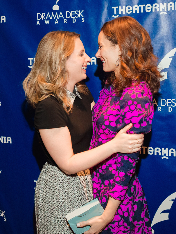 Laura Benanti, Jessie Mueller & More Step Out for Drama Desk Award Nominations Reception