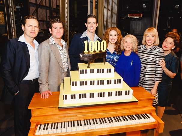 Happy Days Are Here! Carole King and the Cast of Beautiful Celebrate 1,000 Performances