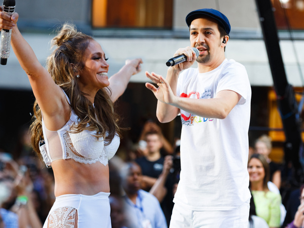 The Making of J. Lo & Lin-Manuel Miranda's 'Love Make the World Go Round' Will Give You BFF Goals